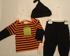 BABYWORKS Baby Boys 0-3 Month Monster Halloween Outfit NWT