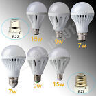 E27 B22 7W 9W 15W Energy Saving LED Globe Ball Lamp Spotlight Bulb DAY WHITE Lot