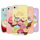 HEAD CASE CUPCAKE HAPPINESS TPU GEL BACK CASE COVER FOR APPLE iPHONE 4S