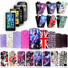 ★ STYLISH STRONG SLIM LEATHER PU BOOK FLIP CASE COVER VARIOUS MOBILE PHONES ★