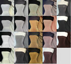Silk touch 4 way stretch jersey lycra fabric material Q53 Black White Grey