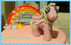 My Little Pony Hand Made Cake Topper - Edible & personalised to your requirement