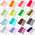 """14""""x108"""" Sheer Organza Table Runner Wedding Bow Party Banquet Supply Decoration"""