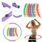 HULA HOOP PROFESSIONAL WEIGHTED MAGNETIC FITNESS EXERCISE MASSAGER WORKOUT