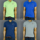 "NWT Hollister Mens Hco ""Diver's Cove"" Muscle Fit  Soft Rugby Polo Tee T- Shirt"