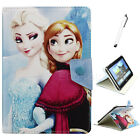 Frozen Disney Elsa & Anna PU Leather Case Cover for 9.7 10 10.1 inch Tablet PC