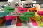 "1000 Custom Printed Paper Tyvek Wristbands-Security Event Party 3/4"" & 1"" Width"