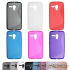 S Line Soft TPU Silicone Skin Rubber Case Cover Gel For Motorola Moto G XT1033
