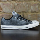 Converse All Star Ox Trainers New in box Brushed Black Size UK sizes 3,4,5,6,7,8