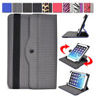 "Universal AR2 360 Rotating Folding Folio Stand Cover fits 7"" Tablets E-Readers"