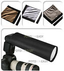 PRO Foldable Speedlight Reflector Snoot Sealed Flash Softbox Diffuser Bender NEW