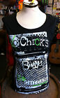 Abbey Dawn NEW Band Chicks Muscle Tank Rock Band M Avril Lavigne RRP £25.99