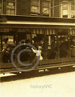 1910 NEWSIE FLIPS TROLLEY CARS WILMINGTON HINE PHOTO