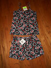 CUTE HARLEY DAVIDSON SHORTS PAJAMA SET NEW WITH TAGS