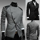 New Fashion Mens Korean Stylish Coat Jacket Casual Designed Fit Slim Suit Blazer