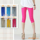 Sexy Skinny Stretch Viscose Colorful Solid Tights Legging Pants 5 Colors New