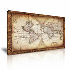 MAP 12 Canvas Framed Printed Wall Art ~ More Size