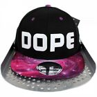 State Property Pink Galaxy Dope Snapback Flat Peak Cap Hip Is Hop Money Time Hat