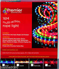 16m ROPE LIGHTS LIGHT MULTI-ACTION CHRISTMAS DECORATION DISCO INDOOR OUTDOOR