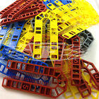 100 MXD PLASTIC HORSESHOE PACKING SHIM, LIGHT & HEAVY PACKER / WEDGE / SHIMS /