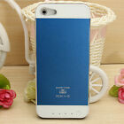 For iPhone 5/5s External Battery Power Bank Backup Charger Case Cover 3500mAh