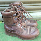UK BRITISH ARMY SURPLUS ISSUE HIAX BROWN LEATHER COMBAT BOOT G1 BOOTS-SAS/PARA