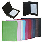 "Litchi Grain PU Leather Folio Smart Case Cover For 6"" Amazon Kindle Paperwhite"
