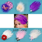 Chic Lovely Baby Infants Toddlers Feather Headband Hairband Head Elastic Band