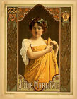 Photo Print Vintage Poster: Theatre Flyer 1800s Julia Marlowe 01