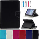 7 inch Universal Folio PU Leather Stand Case Cover For 7-7.9 inch Tablet PC PDA