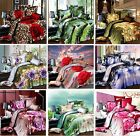 3D Luxury Flower Duvet Cover Bedding Set (And Include 2 Pillowcase 1 Flat)