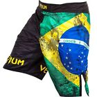 Venum Brazilian Flag Fight Shorts (Black) - bjj mma ufc