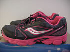 @new@ Saucony Cohesion Grid 5 Running / Training Pink / Black / Gray Youth 7 / Wmns 8.5
