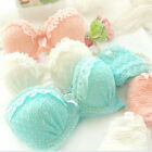Sexy Womens Underwear Lingerie Chiffon Ruffle Push-Up Lace Bra & Panties Sets
