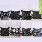 Decor Throw Pillow Case Pillowslip Cushion Cover Square Black New
