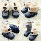 Baby boots girl boy leisure Snow winter Soft bottom Shoes 0-6 6-12 12-18 Months