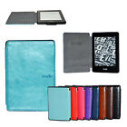 "Crazy Horse Style PU Leather Folio Case Cover For 6"" Amazon Kindle Paperwhite"