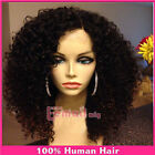 100% remy human hair full lace wigs/lace front wigShort Deep Curly Fashion