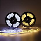 5m 16.4ft Cool/Warm White 3014 600LED SMD Waterproof LED Strip Light Lamp DC 12V
