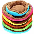 Soft Fleece Pet Dog Puppy Cat Cozy Warm Nest Bed House with Plush Mat Cushio Pad