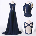 2014 Sexy Split Front Evening Formal Prom Wine Party Cocktail Dress Wedding Gown