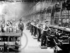 1916 Vicker & Sons Maxim Machine Gun Factory Photo Vintage Largest Sizes