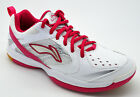 Li-Ning Ladies Badminton Indoor Shoe Non Marking Trainer Pink - RRP £65