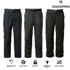 Craghoppers Winter Lined Kiwi Mens Walking Trousers Thermal CMJ 245 Free Post