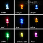 100pcs 3mm Round top bright LED Color optional DIY New High Quality