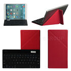 Universal Bluetooth Keyboard W / Red Case For 9~10.1 Android Windows Tablet PC