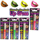725008- Ladies Glow In The Dark Lip Gloss- 4 ColoursYellow, Pink, Orange&Green