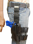 NEW Barsony Tactical Leg Holster w Mag Pouch Kimber,  Llama Full Size 9mm 40 45