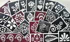 BN Self Adhesive Temporary Tattoo Floral Henna Stencils - ONLY 99p FOR SET OF 2!