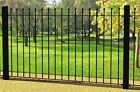 GARDEN METAL GALVANISED METAL FENCE Newcastle Ball Top Fencing ~SALE~ 2 or more